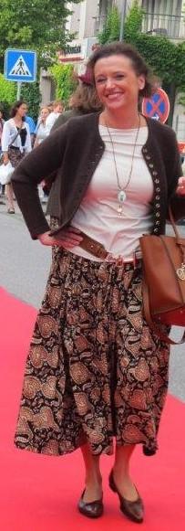 Maxirock Herbstfarben - Mode fair produziert