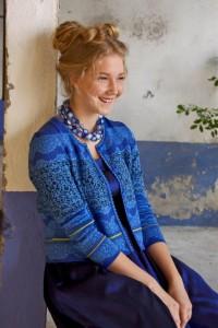 Edith - Blog Foto Pullover Blau OLEANA 91