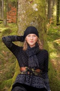 Edith - Blog foto Oleana Herbst schwarz