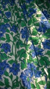 Maxirock Muster Grün Blau - Mode fair produziert