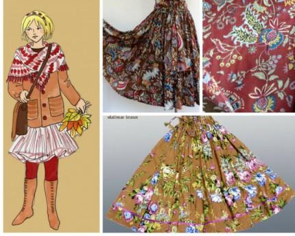 mode fair produziert - maxi-midi-röcke