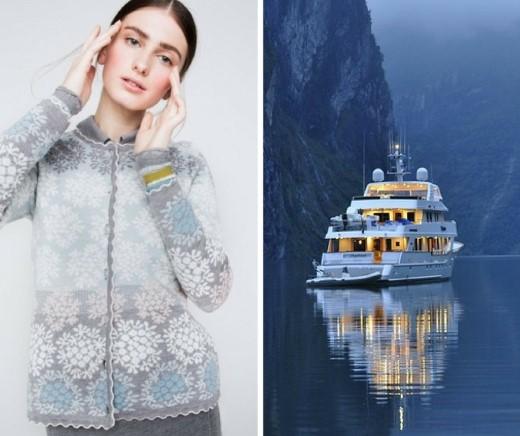 Oleana Strickmode Winter Kollektion 2016 Mode Fair Produziert