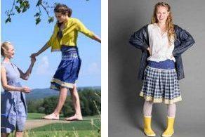 Röcke mit Gelb