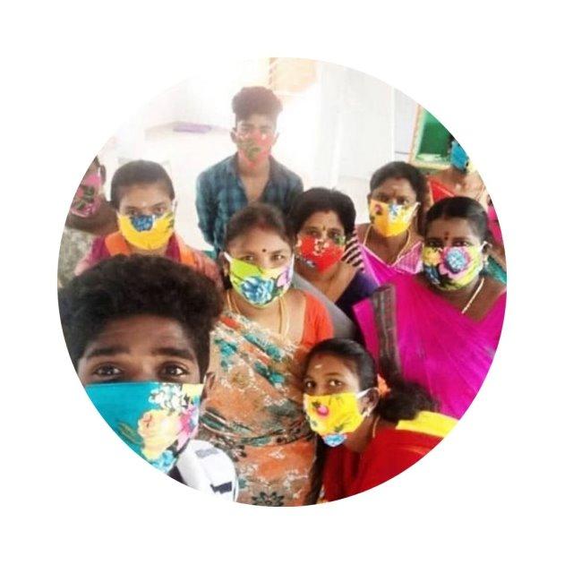 Joyvita weite Röcke - Nähteam India